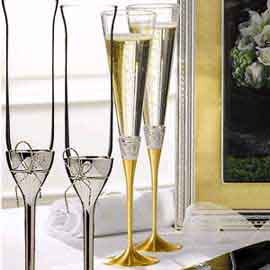 Сватбени чаши Vera Wang