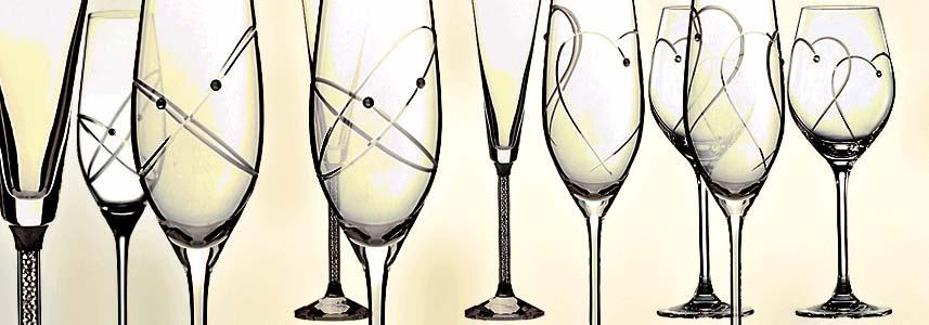 Чаши с кристали