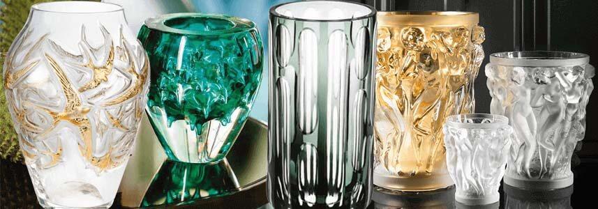Кристални вази