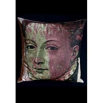 Декоративна възглавница с принт лице