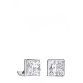 Lalique копчета за ръкавели Arethuse Clear