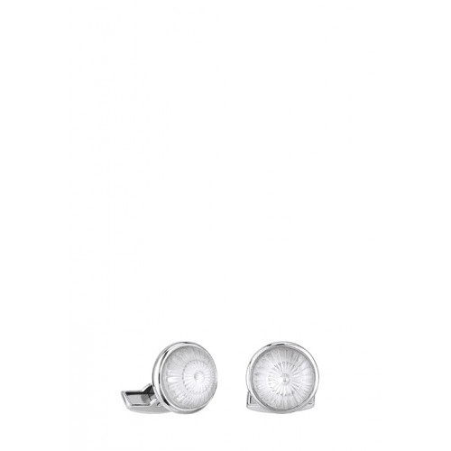 Lalique луксозни ръкавели Toupie Clear