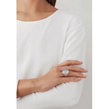 LALIQUE Opalescent дамски пръстен кабошон в цвят опал