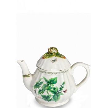 Чайник порцелан с релефни форми
