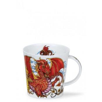 Порцеланова чаша Dunoon Cairngorm Mythicos Dragon
