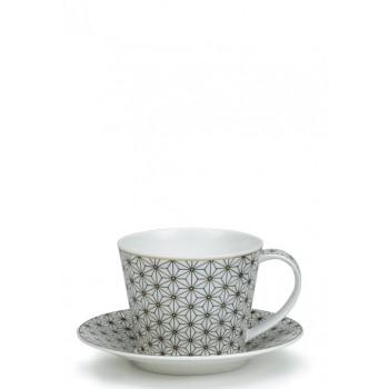 Луксозна чаша костен порцелан 350 мл Самарканд