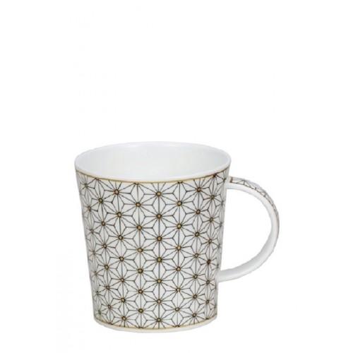 Порцеланова чаша Dunoon Lomond Samarkand White and Gold