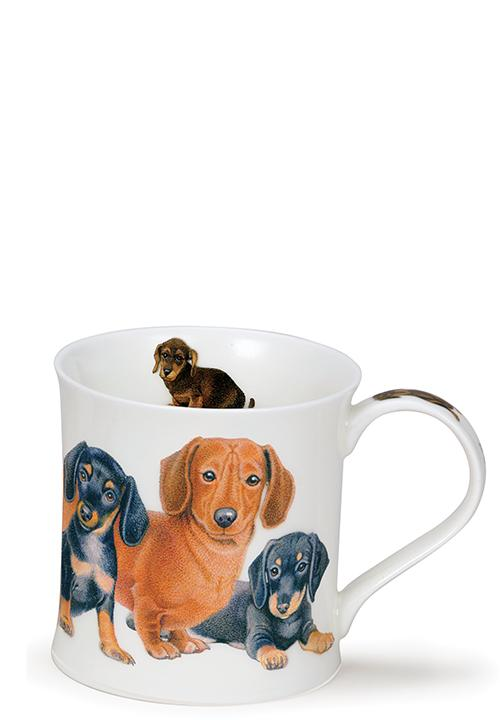 Порцеланова чаша Dunoon Wessex Designer Dogs Daschunds