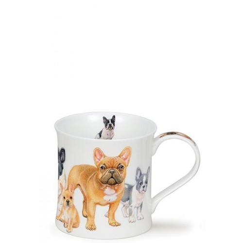Порцеланова чаша Dunoon Wessex Designer Dogs French Bulldogs