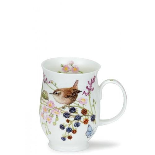 Порцеланова чаша Dunoon Suffolk Hedgerow Birds Wren