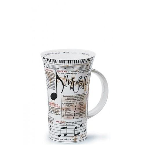 Порцеланова чаша Енциклопедична Dunoon Glencoe Music