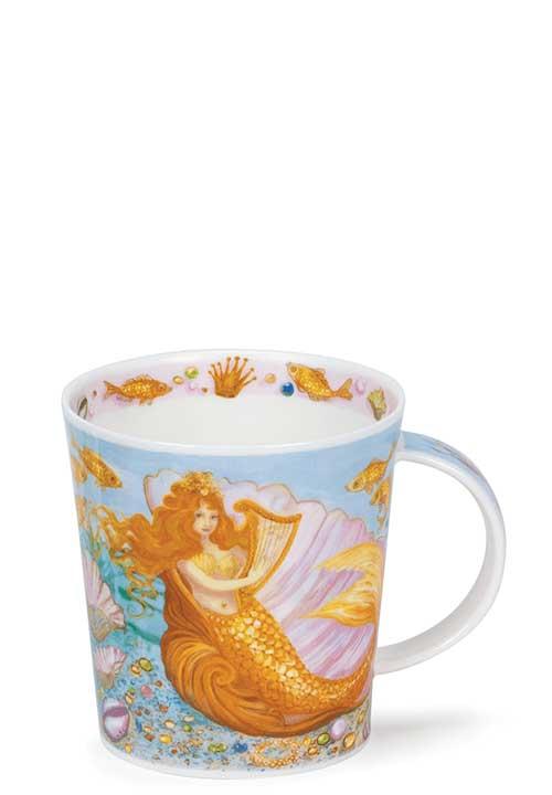 Порцеланова чаша Dunoon Lomond Mermaids Yellow