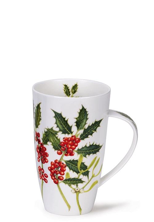 Порцеланова чаша Dunoon Henley Holly and Mistletoe