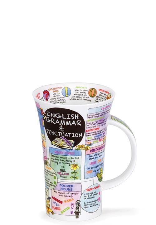 Порцеланова чаша Енциклопедична Dunoon Glencoe English Grammar