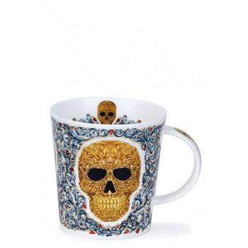 Мъг за кафе с череп 320 мл английски порцелан Dunoon Elysium