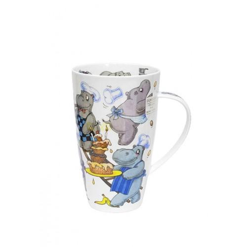 Порцеланова чаша Dunoon Henley Troublemakers Hippo