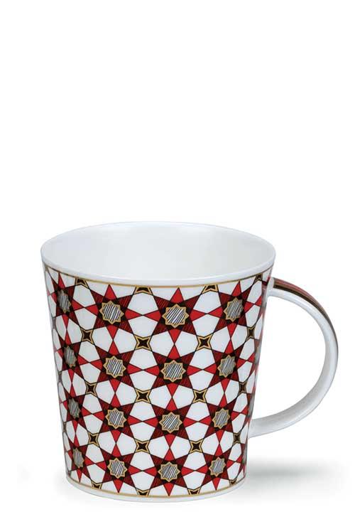 Medina Red Star Порцеланова чаша Dunoon