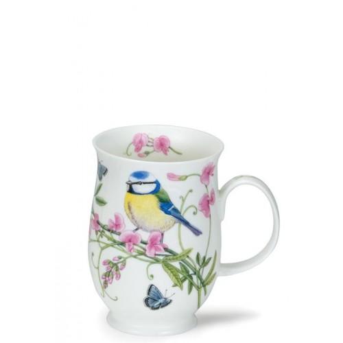 Порцеланова чаша Dunoon Suffolk Hedgerow Birds Blue Tit