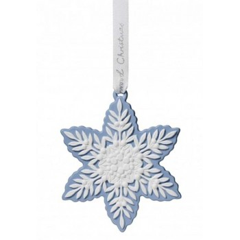Wedgwood Коледна снежинка лукс