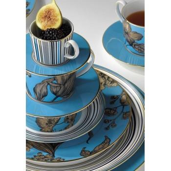 Wedgwood Vibrance сет за чай от три части в син цвят