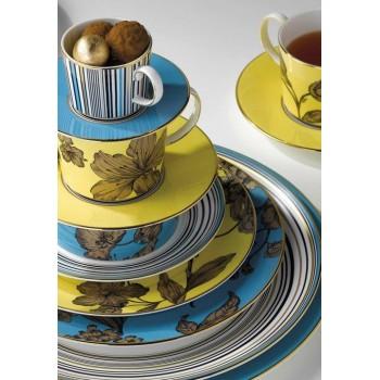 Wedgwood Vibrance сет за чай от три части в жълто