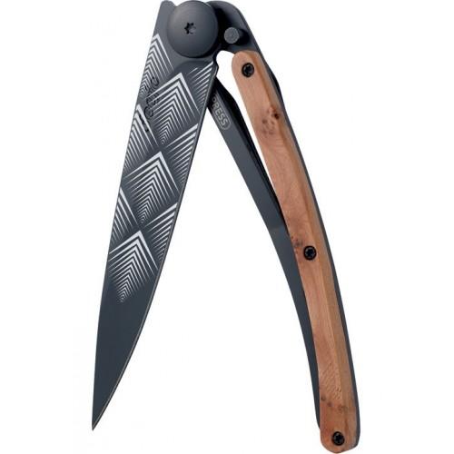 Сгъваем нож модел ART DECO JUNIPER WOOD