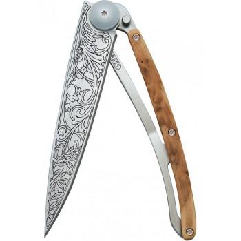 Сгъваем нож модел ART NOUVEAU с дръжка от хвойна