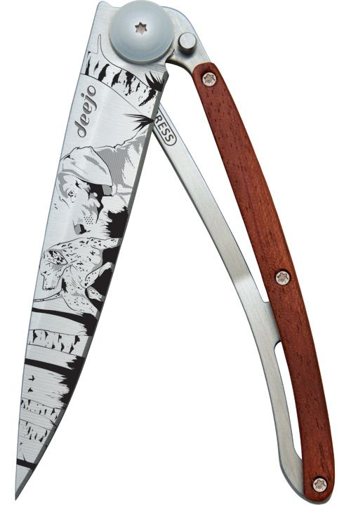 Сгъваем нож модел TATTOO HUNTING DAY