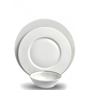 Порцеланов сервиз за хранене Guy Degrenne Graphique за 6 души