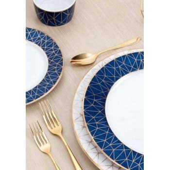 Сервиз за хранене в синьо Cosmopolitan за 6 души