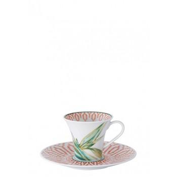 Vista Alegre Fiji Комплект от 2 чашки +  2чинийки за кафе